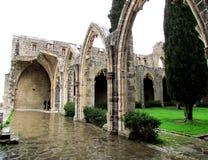 Abadía de Bellapais, Chipre Imagen de archivo libre de regalías