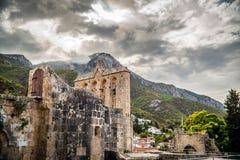 Abadía de Bellapais Distrito de Kyreina, Chipre Tono del color adaptado Imágenes de archivo libres de regalías