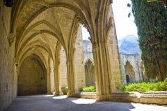Abadía de Bellapais en Chipre septentrional Fotografía de archivo