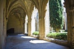 Abadía de Bellapais en Chipre septentrional Imagenes de archivo