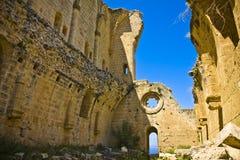 Abadía de Bellapais en Chipre septentrional Imagen de archivo libre de regalías