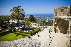 Abadía de Bellapais en Chipre septentrional Imágenes de archivo libres de regalías