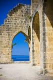 Abadía de Bellapais en Chipre septentrional Fotos de archivo libres de regalías