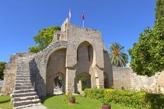 Abadía de Bellapais en Kyrenia, Chipre. Fotos de archivo libres de regalías