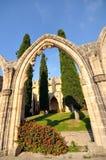 Abadía de Bellapais, Kyrenia Foto de archivo libre de regalías