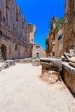 Abadía de Bellapais, Kyrenia, Chipre del norte Fotos de archivo libres de regalías