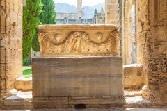 Abadía de Bellapais, Kyrenia, Chipre del norte Imagen de archivo