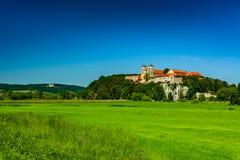 Abadía de Benedicts en Tyniec Fotos de archivo libres de regalías
