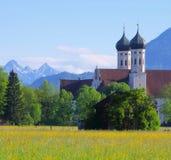 Abadía de Benediktbeuern Imagen de archivo libre de regalías