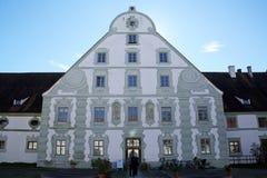 Abadía de Benediktbeuern, Alemania Imagenes de archivo