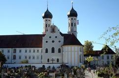 Abadía de Benediktbeuern, Alemania Imágenes de archivo libres de regalías