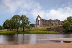 Abadía de Bolton en los valles de Yorkshire Fotos de archivo libres de regalías