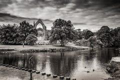 Abadía de Bolton en Yorkshire, Inglaterra Imagen de archivo libre de regalías