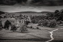 Abadía de Bolton en Yorkshire, Inglaterra Fotografía de archivo libre de regalías