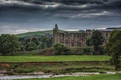 Abadía de Bolton en Yorkshire, Inglaterra Fotos de archivo