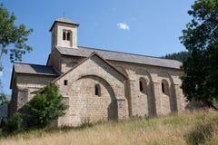 Abadía de Boscodon Imágenes de archivo libres de regalías