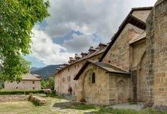 Abadía de Boscodon - Alpes - Francia Foto de archivo libre de regalías