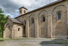 Abadía de Boscodon - Alpes - Francia Fotografía de archivo libre de regalías