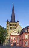 Abadía de Brauweiler, Alemania Fotografía de archivo
