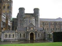 Abadía de Buckfast fotografía de archivo libre de regalías
