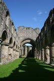 Abadía de Buildwas Foto de archivo