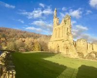 Abadía de Byland Foto de archivo libre de regalías