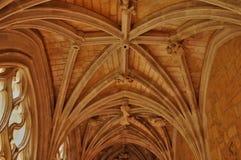 Abadía de Cadouin en Perigord Foto de archivo libre de regalías