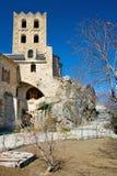 Abadía de Canigou Imágenes de archivo libres de regalías