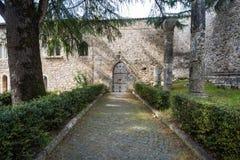 Abadía de Casamari en Ciociaria, Frosinone, Italia foto de archivo
