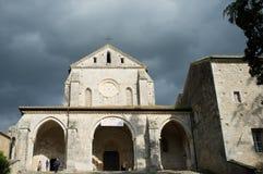 Abadía de Casamari, Italia Foto de archivo libre de regalías