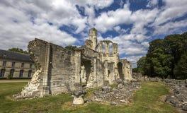 Abadía de Chaalis, Chaalis, Francia Imagen de archivo