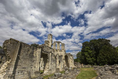 Abadía de Chaalis, Chaalis, Francia Foto de archivo