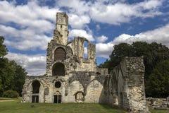 Abadía de Chaalis, Chaalis, Francia Imagen de archivo libre de regalías
