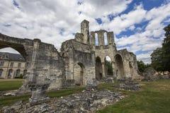 Abadía de Chaalis, Chaalis, Francia Fotos de archivo