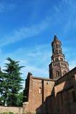 Abadía de Chiaravalle en Milano, Italia Imágenes de archivo libres de regalías
