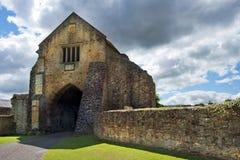 Abadía de Cleeve, Somerset, Inglaterra Foto de archivo