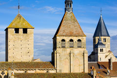 Abadía de Cluny Imágenes de archivo libres de regalías