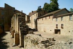 Abadía de Cluny Imagenes de archivo
