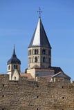 Abadía de Cluny Foto de archivo