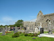 Abadía de Corcomroe Imagenes de archivo