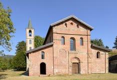 Abadía de Croce del alla de Santa Maria, Tiglieto, Italia Imagen de archivo libre de regalías
