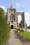 Abadía de Crowland Imagen de archivo libre de regalías