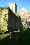 Abadía de Culross Fotografía de archivo libre de regalías