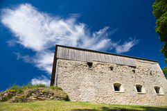 Abadía de debajo la visión, Estonia de Padise Imagen de archivo libre de regalías