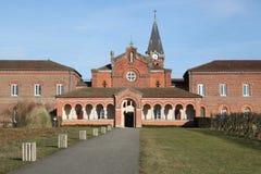 Abadía de DES Dombes de Notre Dame Fotos de archivo libres de regalías