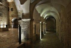 Abadía de Dormition - comunidad benedictina en el monte Sion en Jerusalén Israel Imagen de archivo