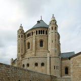Abadía de Dormition del benedictino, Jerusalén Fotos de archivo libres de regalías