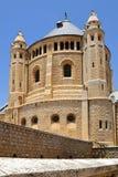 Abadía de Dormition en el monte Sion, Jerusalén, Israel Fotos de archivo libres de regalías