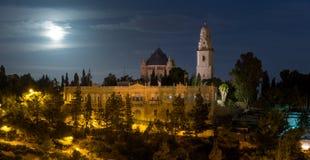 Abadía de Dormition en Jerusalén Fotos de archivo libres de regalías