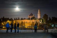 Abadía de Dormition en Jerusalén Imagen de archivo